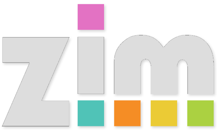 ZIM Kids Logo - pressing this will take you back to the main ZIM Kids site.